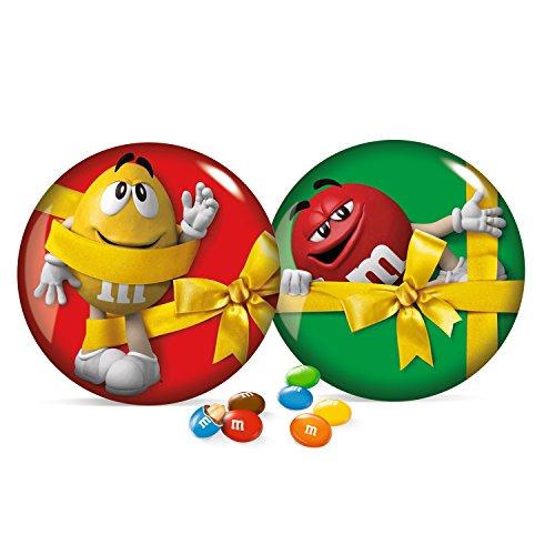 M&M's Grande Boîte en Métal 330 g - Lot de 3, couleurs aléatoire