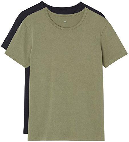 Lot de 2 Tshirt Col Rond FIND Essential Homme - Différentes couleurs et tailles disponible