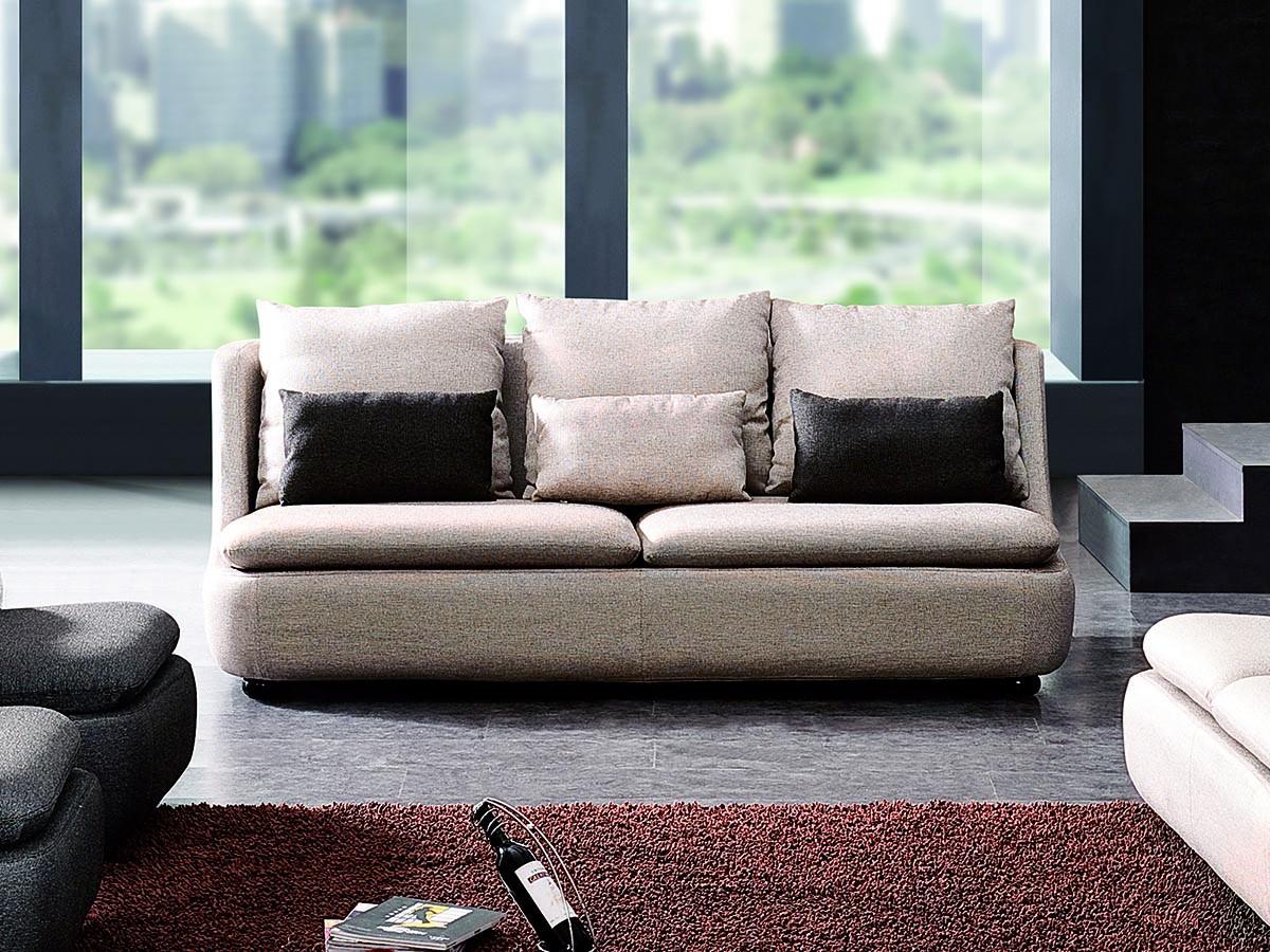 Canapé 3 places en tissu DOOMYS