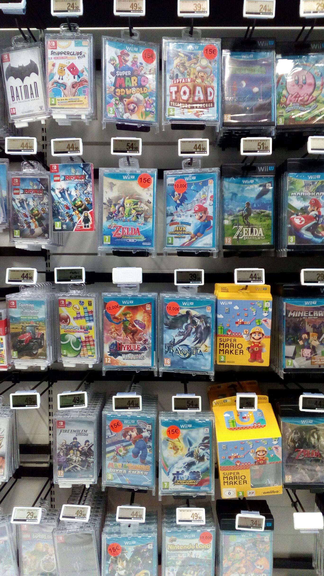 Sélection de jeu Wii U en promotion - Ex : Hyrule Warriors - Barjouville (28)