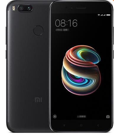 """Smartphone 5.5"""" Xiaomi Mi 5X Noir - Full HD, Snapdragon 625, RAM 4 Go, ROM 64 Go (Sans B20)"""