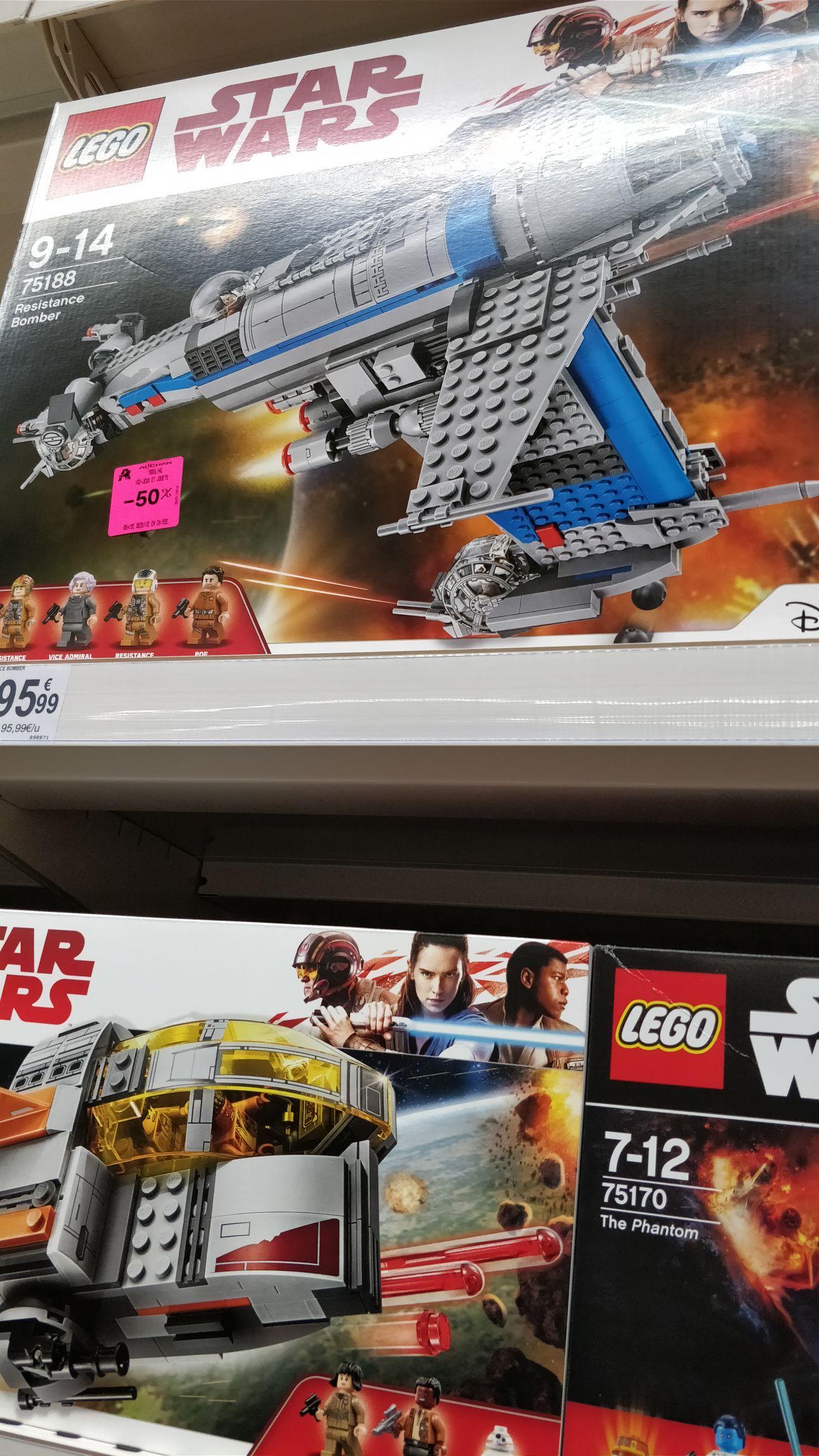 Divers sets Lego en promo - Auchan Bouliac (33)