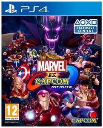 Jeu Marvel vs Capcom Infinite sur PS4