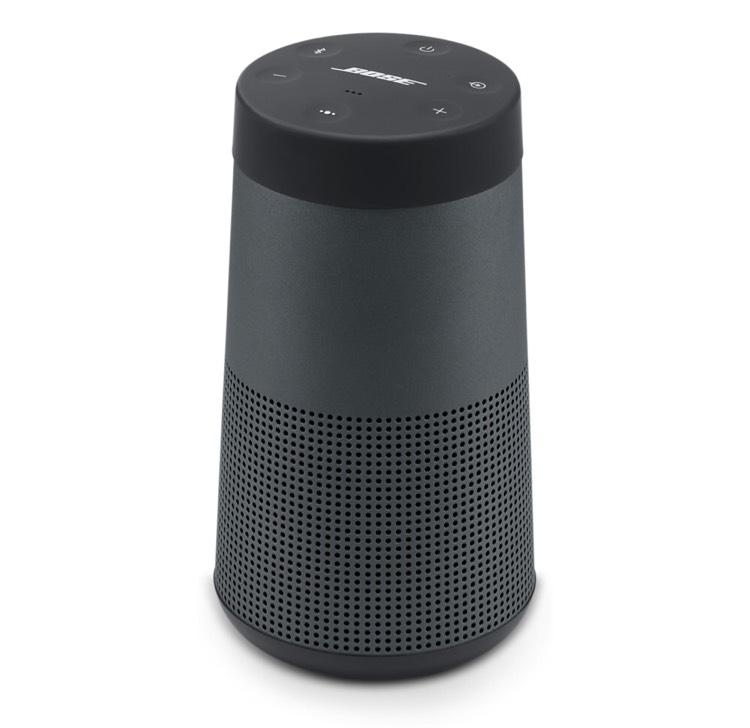 Enceinte portable Bose SoundLink Revolve - Noire, Bluetooth