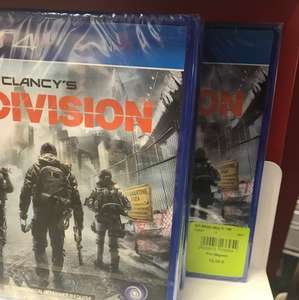 Tom Clancy's The Division PS4 - Furet du nord Lille (59)