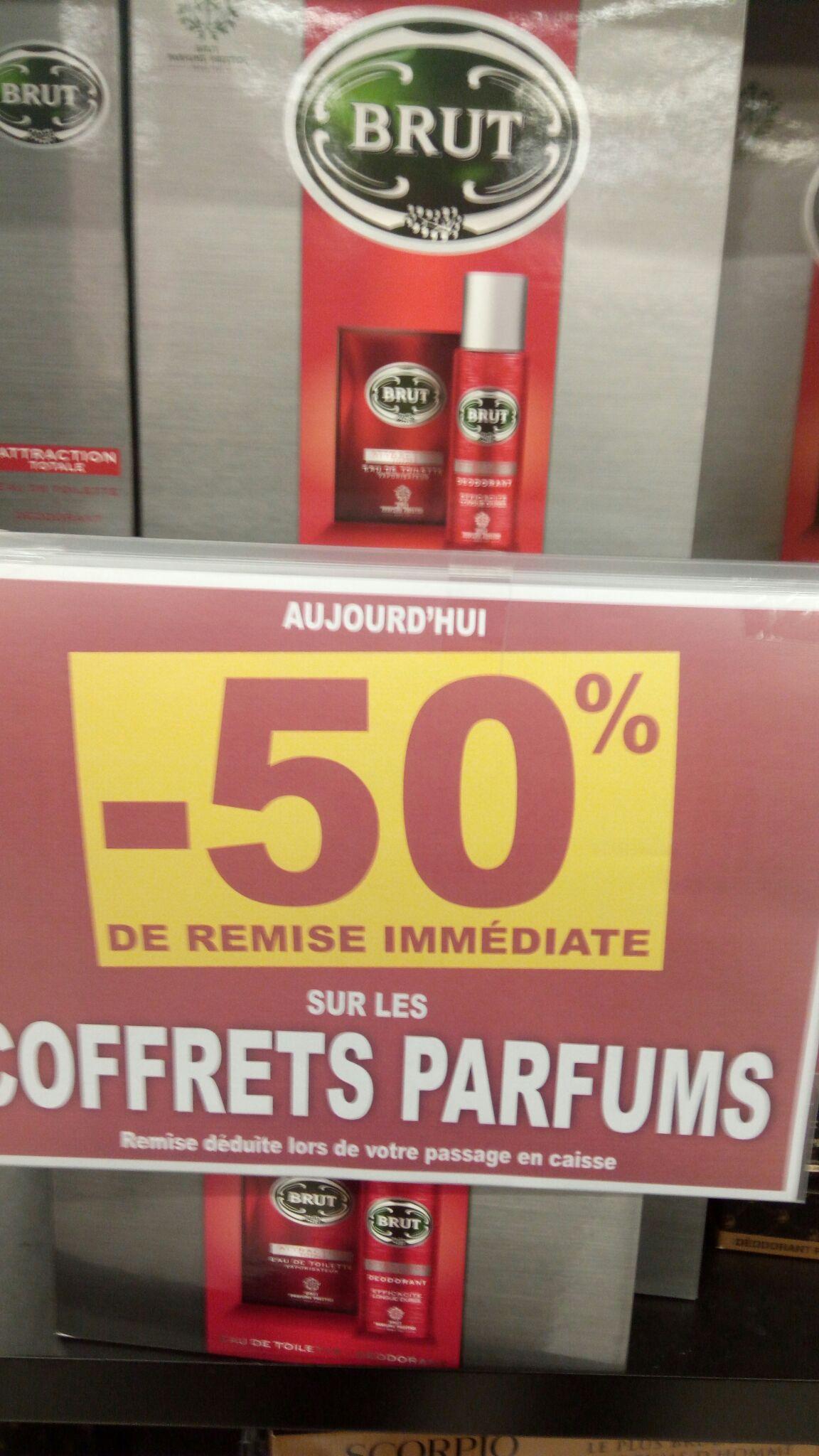 50% de réduction sur les coffrets parfum - Antibes (06)