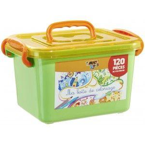 Boite de coloriage Bic Kids - 120 Pièces (via 7.5€ sur la carte fidélité)