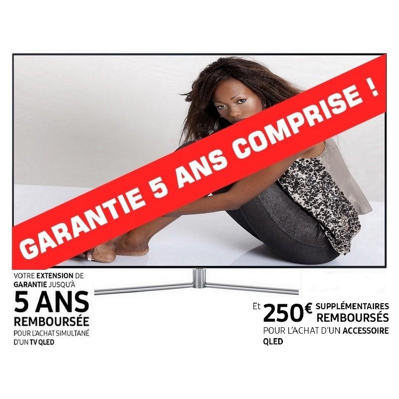 """TV 65"""" Samsung QE65Q7F Qled, 4K UHD + Garantie 5 ans + Support mural WMN-M11EA/XC(via ODR de 614€)"""