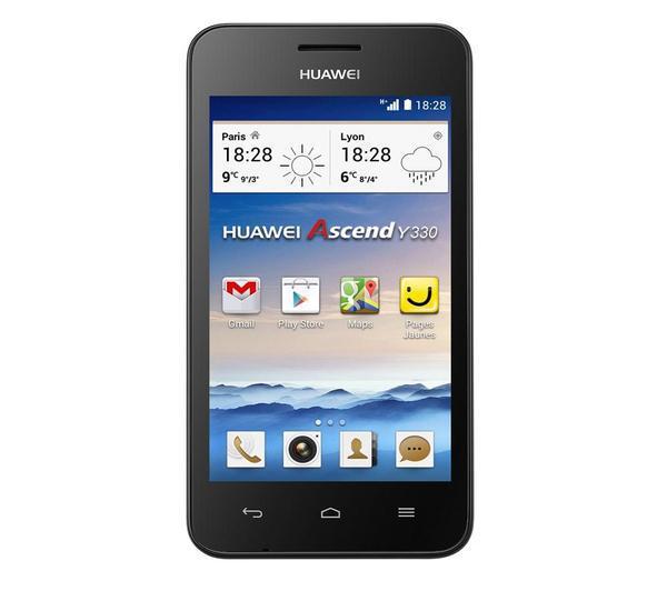 Smartphone Huawei Ascend Y330 (avec ODR 20€) Rose