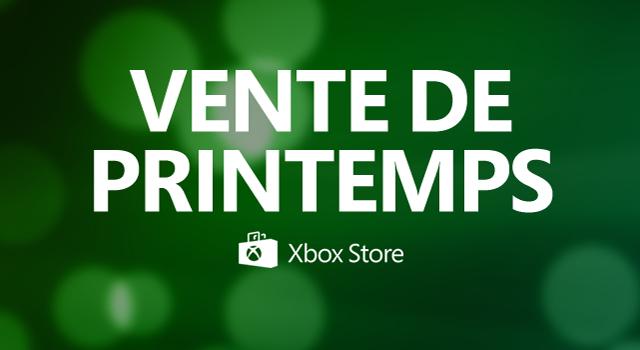 Vente de printemps: Jusqu'à -85% sur sélection de jeux Xbox One et 360