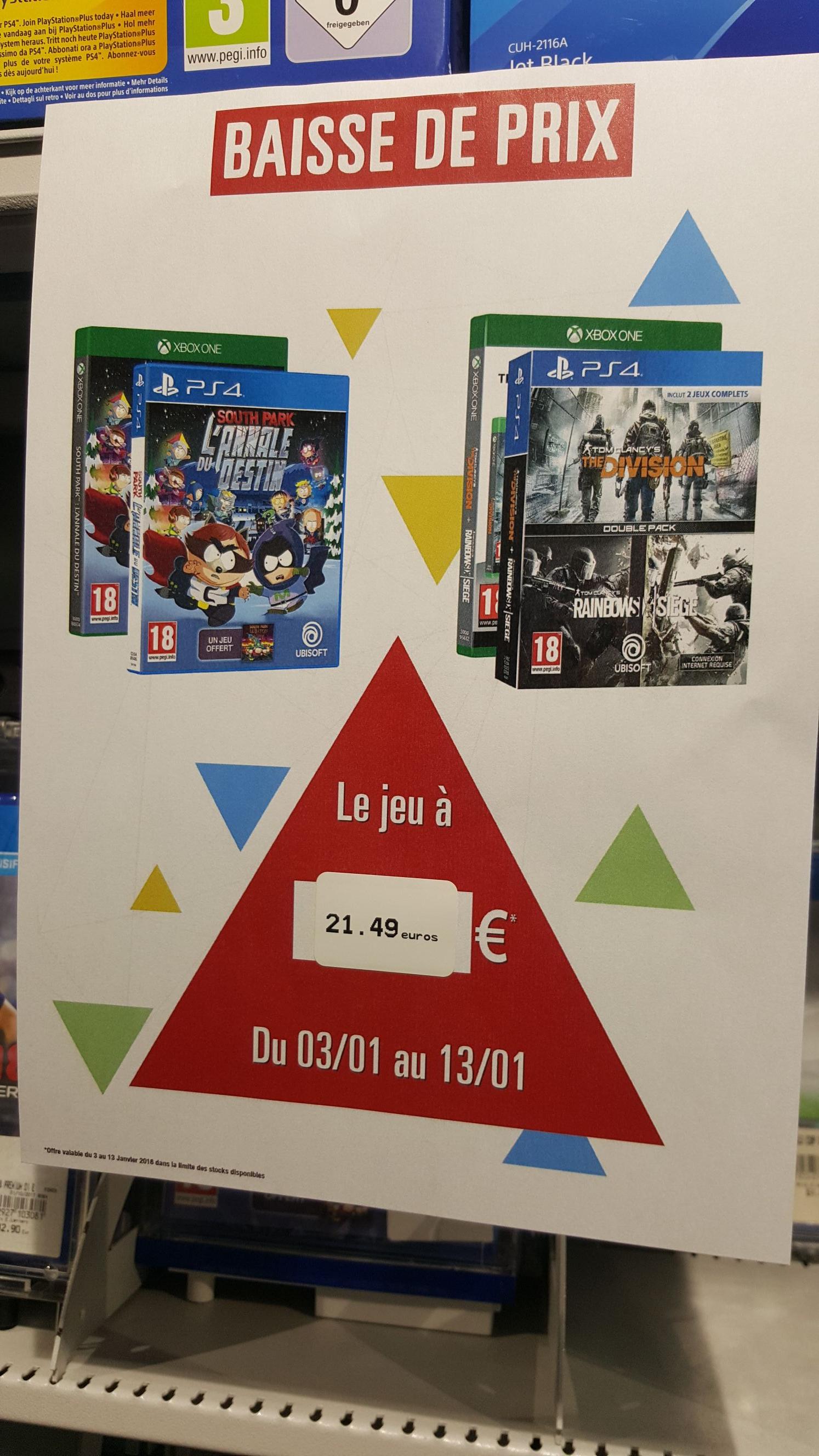 Jeu South Park : l'Annale du Destin PS4 - Leclerc Moisselles 95