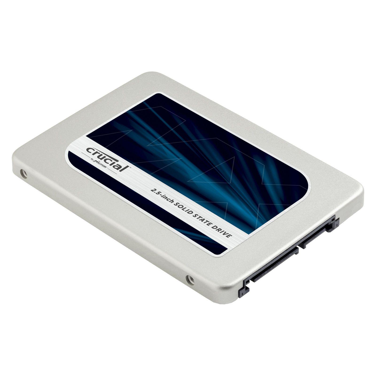 """SSD interne 2.5"""" Crucial MX300 SATA - 525Go"""
