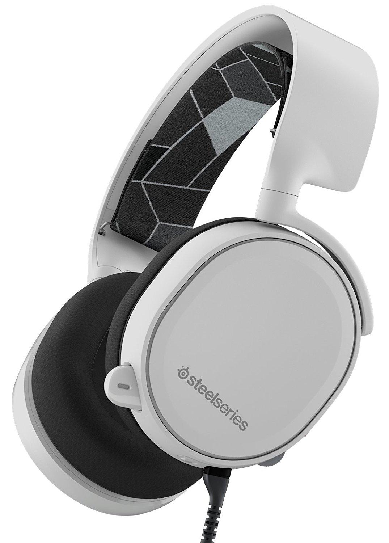 Micro-casque Steelseries Arctis 3 - Noir ou Blanc