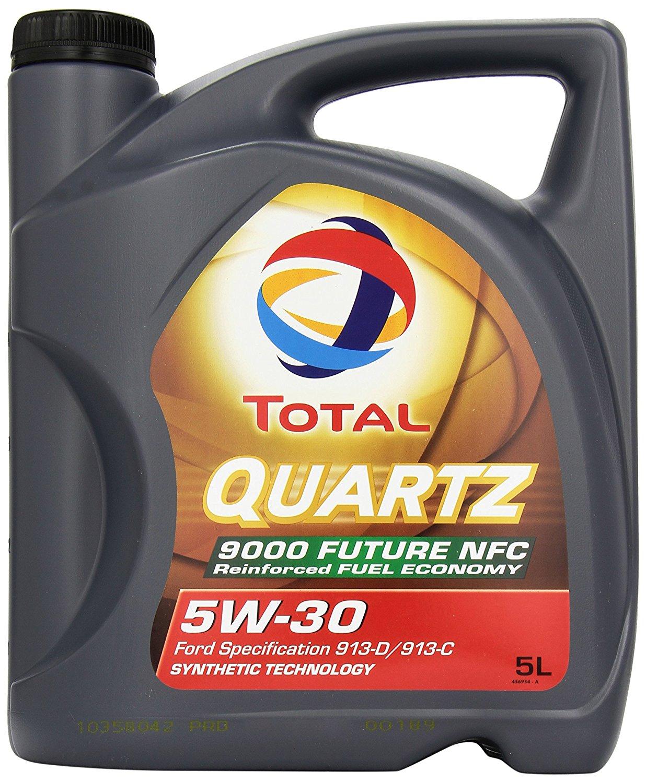 Bidon d'huile moteur Total Qwartz 9000 5W30 - 5L