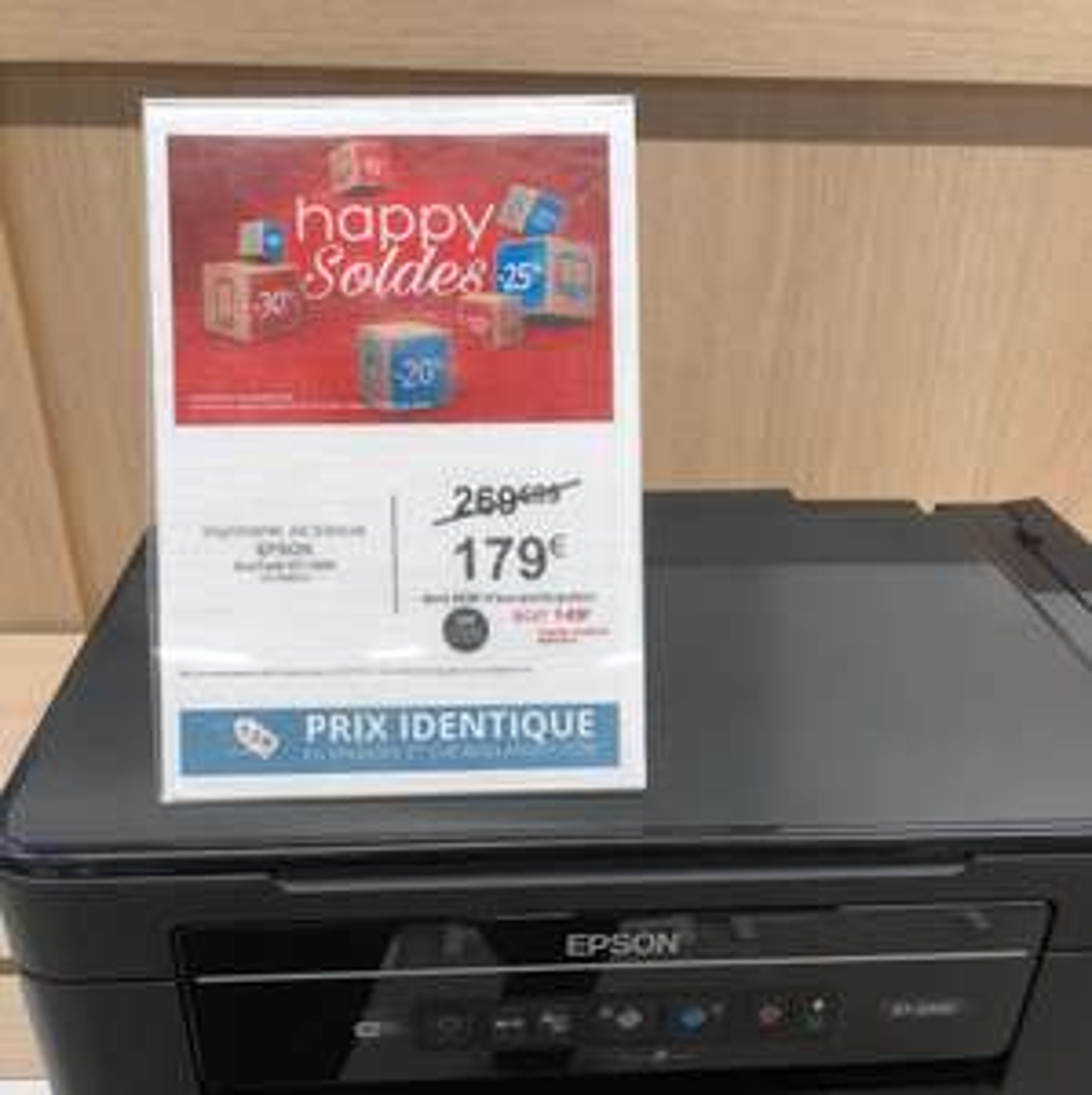 Imprimante Epson EcoTank ET-2600 (via ODR de 30€)