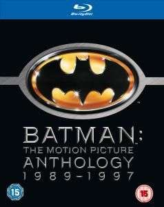 Coffret Blu-ray Anthologie Batman (1989-1997)