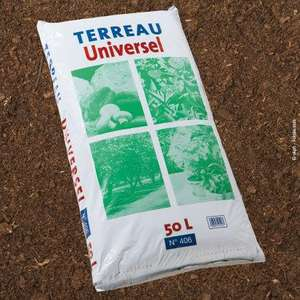 Terreau universel 50L (support de culture NFU 44-551)