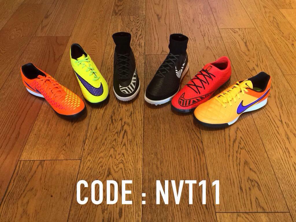 -15% sur les chaussures de football en salle