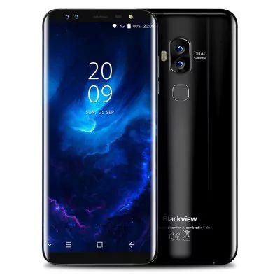 "Smartphone 5.7"" Blackview S8 - 4 Go RAM, 64 Go, Noir"