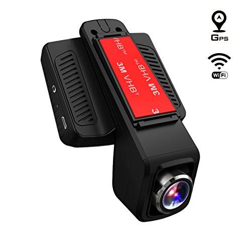 EXPIRÉ - Dashcam Toguard Wi-Fi + GPS (vendeur tiers)