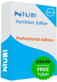 Nuibi Partition Editor Professional Edition gratuit (au lieu de 39$)