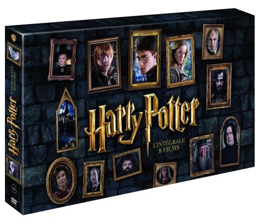 Coffret DVD Intégrale Harry Potter + Baguette au choix