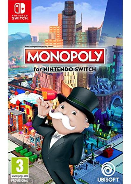 Jeu Monopoly sur Nintendo Switch