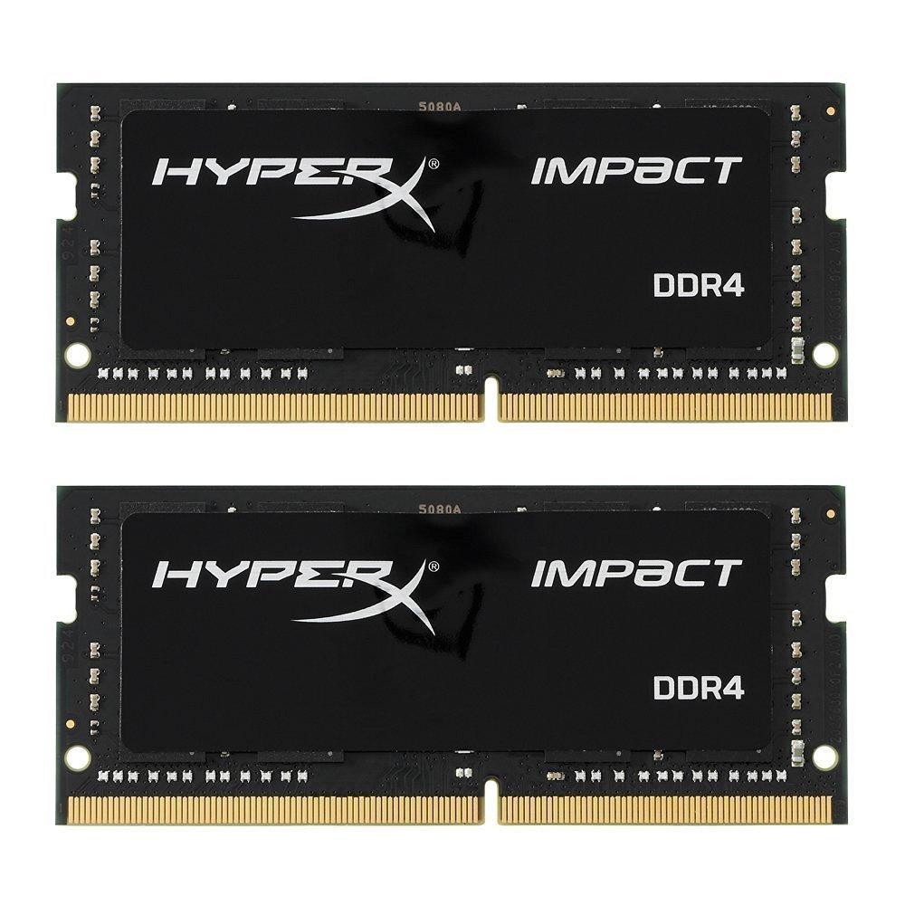 Kit mémoire DDR4 SO-DIMM HyperX Impact 16Go (2x8Go) - 2400 MHz, PC4-19600