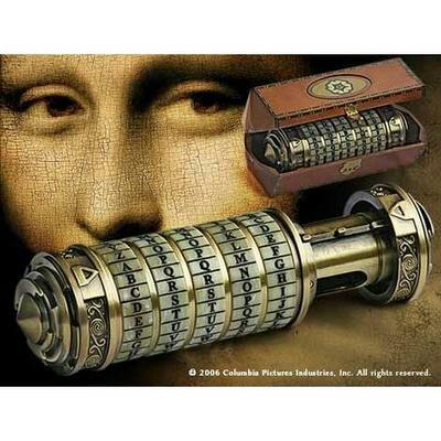 Réplique du Cryptex de Da Vinci Code