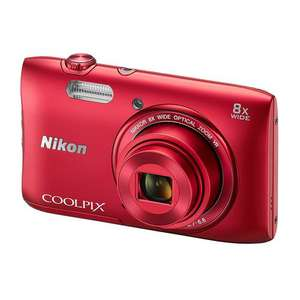 Appareil photo Nikon coolpix s3600 rouge