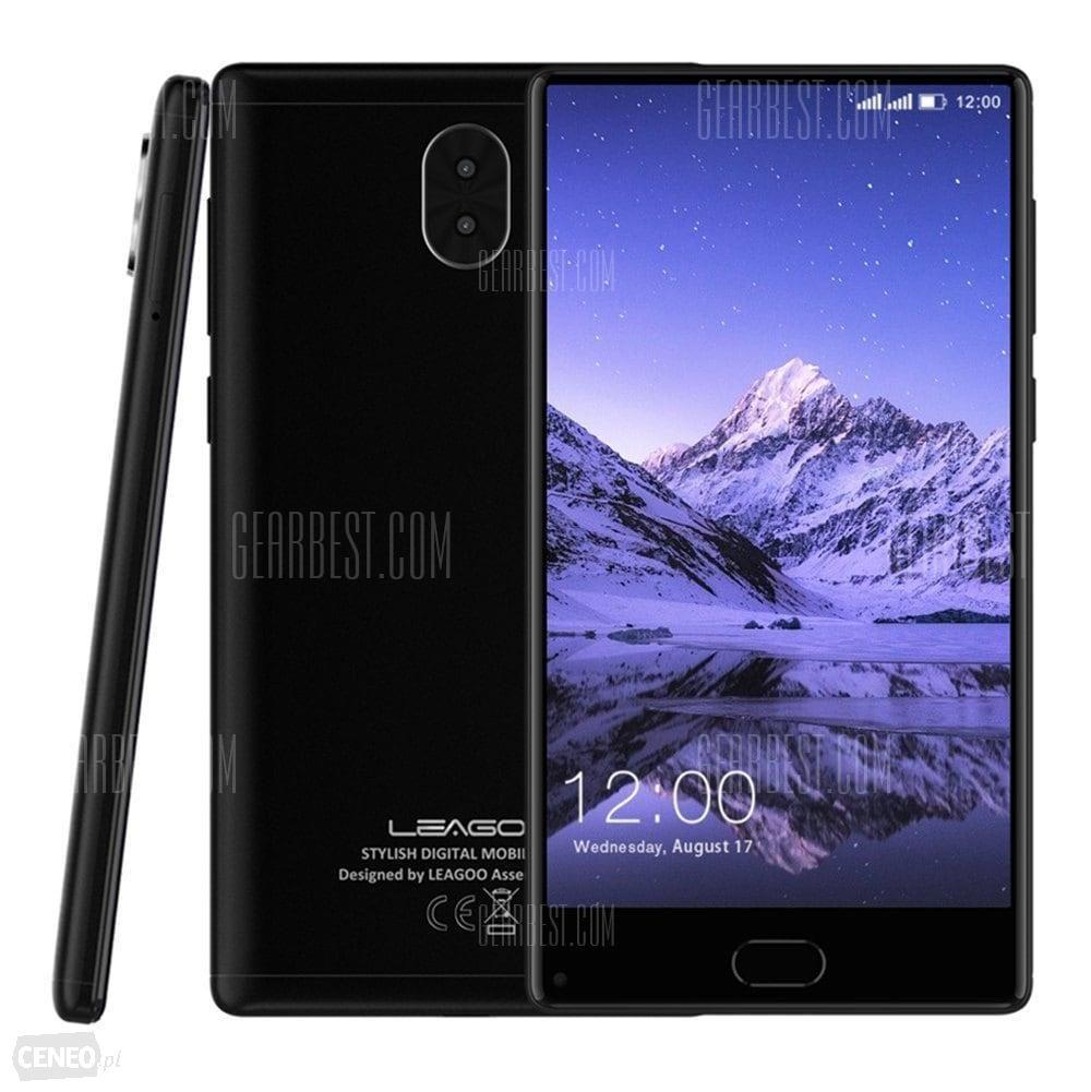 "Smartphone 5.5"" Leagoo Kiicaa Mix 4G Phablet - 3 Go de RAM, 32, 4G (B20), noir"