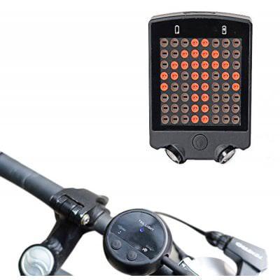Feu de signalisation arrière pour vélo Leadbike A112 - LED, avec télécommande sans-fil