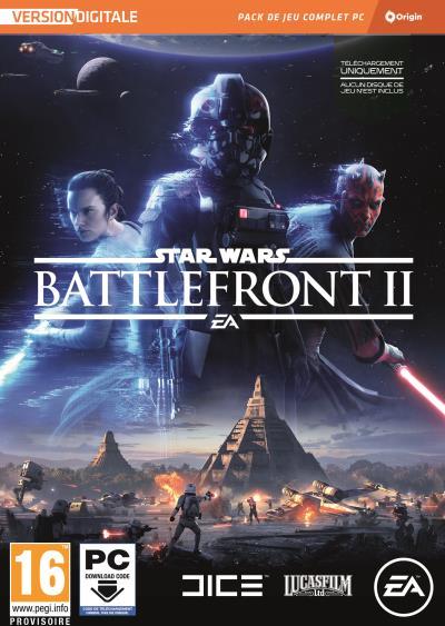 Sélection de jeux en promotion - Ex: Fifa 18, Need For Speed Payback ou Star Wars Battlefront II sur PC