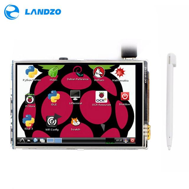 "Écran tactile 3.5"" pour mini-PC Raspberry Pi 3 - 320x480, TFT"
