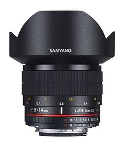 Objectif super grand angle Samyang 14mm f2.8 IF ED UMC - Nikon
