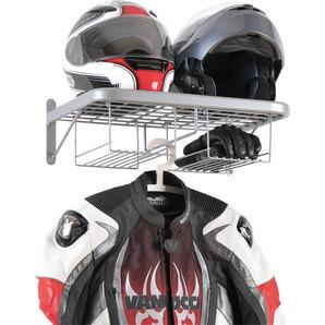 Double vestiaire pour motard avec rangement pour gants