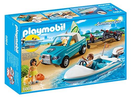 [Prime] Jouet Playmobil Voiture avec bateau et moteur submersible (6864)