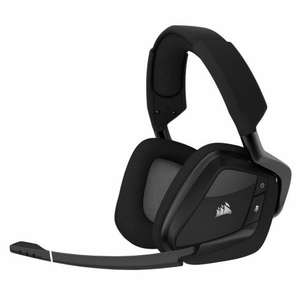 Casque micro Corsair VOID carbon wireless 7.1 rgb