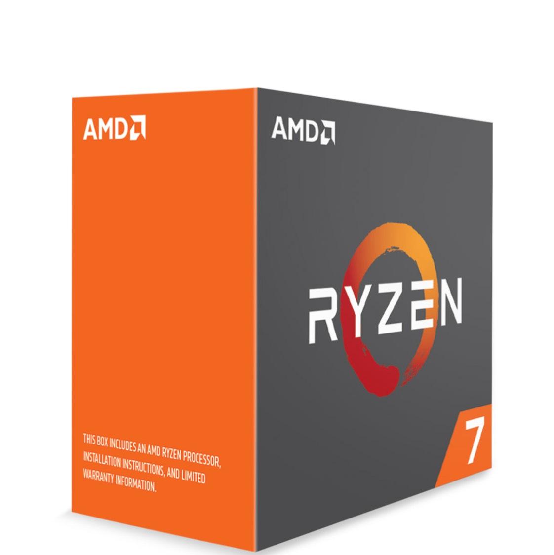 Processeur AMD Ryzen 7 1700X (3.4 GHz)