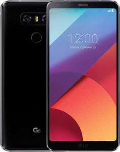 """Smartphone 5.7"""" LG G6 - 32 Go, 13 Mpx, Astro Black (Frontaliers Suisse)"""