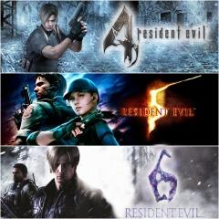 Resident Evil 4 + Resident Evil 5 + Resident Evil 6 sur PS4 (Dématérialisés)