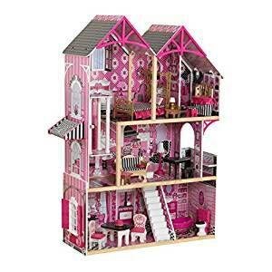 Maison de poupée Kidkraft Bella + 16 accessoires
