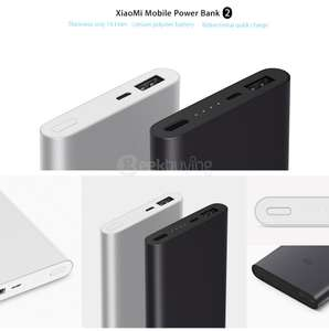 Batterie externe Xiaomi Power Bank 2 - 10000 mAh (Noir)