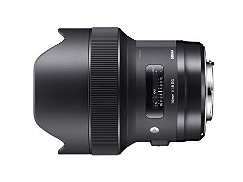 Objectif Sigma 14mm F1.8 DG HSM pour Appareil Reflex Nikon - Noir