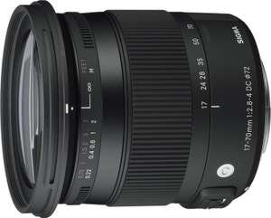 Objectif Sigma 17-70 mm F2,8-4 DC Macro OS HSM Contemporary - Monture Canon
