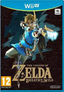 Jeu The Legend of Zelda: Breath of the Wild sur Nintendo Wii U (Frontaliers belgique)
