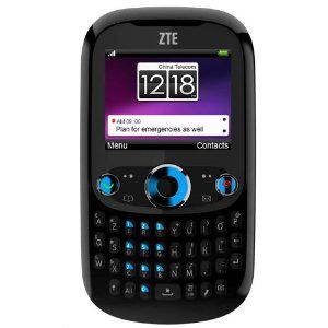 Télephone mobile classique ZTE-G R236m (à clavier complet)