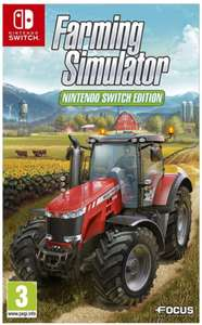 Farming simulator 2017 sur Nintendo Switch