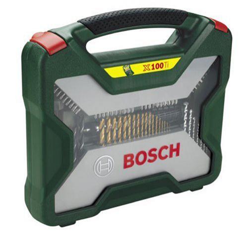 Coffret de mèches et forets Titane 100 pièces Bosch 2607019330 X-line