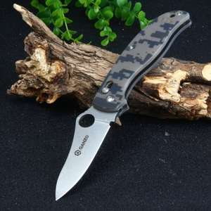 Couteau Ganzo G733-CA avec Axis Lock 58HRC Pocket Knife - Camouflage